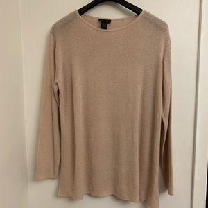 Blush pink Express sweater- xl